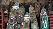 Der Friedhof der Kreuzfahrtschiffe