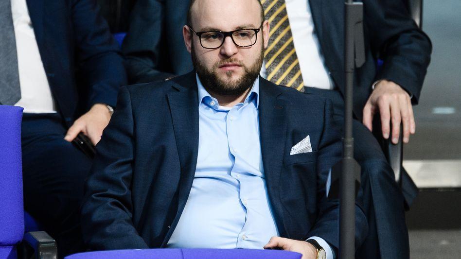 AfD-Politiker Markus Frohnmaier