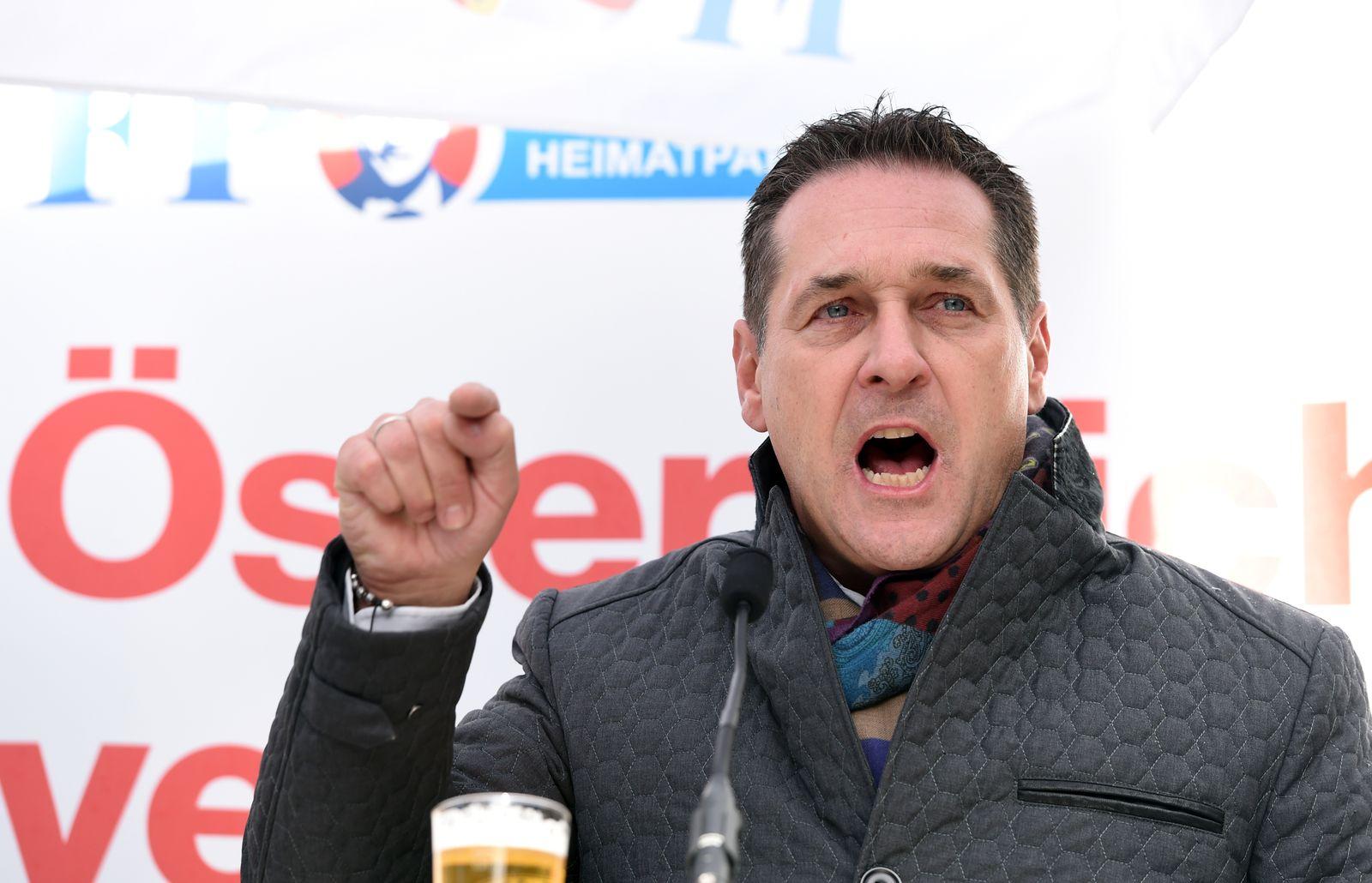 Österreich/ Heinz-Christian Strache/ 2017