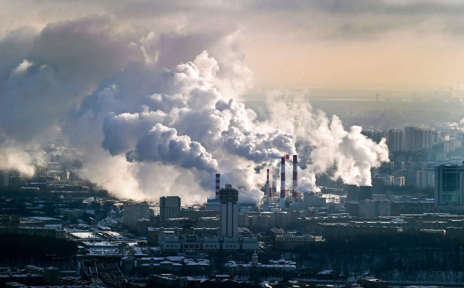 CO2 Emission / Luftverschmutzung / Steuer