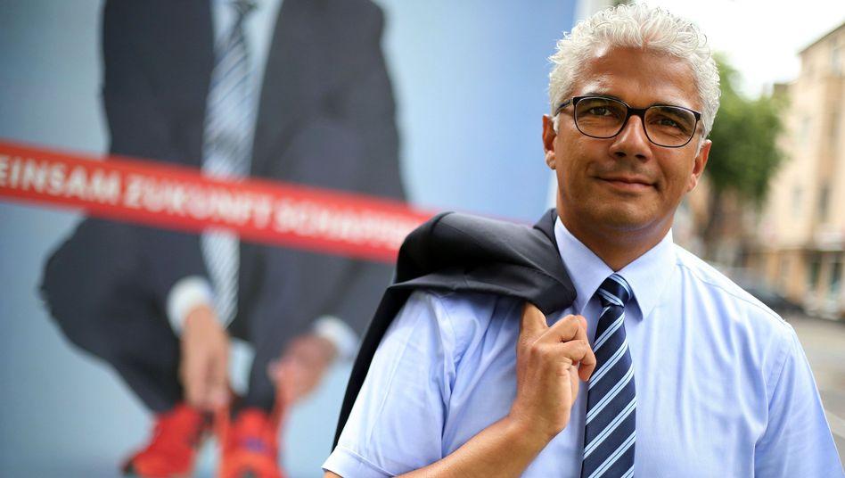 Löst Amtsinhaber Nimptsch ab: CDU-Kandidat Sridharan