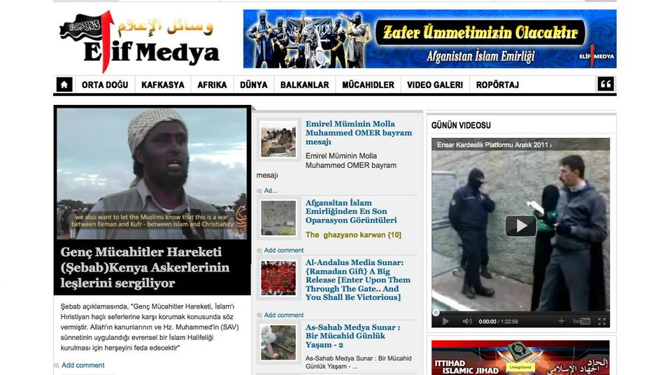 Propaganda im Internet: Registriert unter der Adresse des türkischen Konsulats