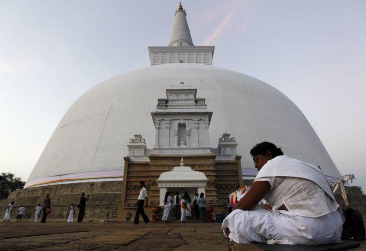 Tempel in Anuradhapura (im Dezember 2010): Noch heute wichtiges Pilgerziel