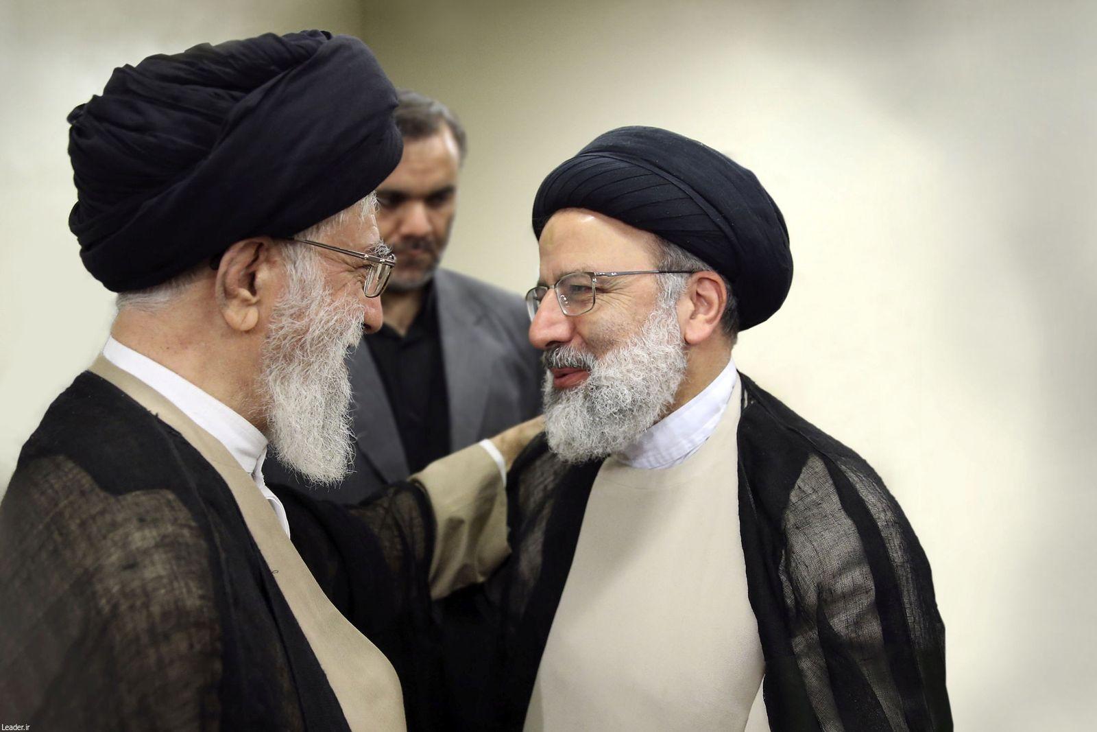 Ali Khamenei/Ebrahim Raisi