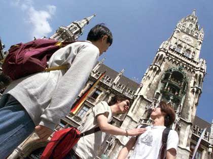 Rathaus München: Selbst florierenden Städten droht der Einwohnerschwund