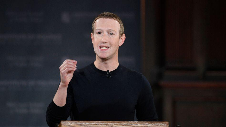 """Mark Zuckerberg (Archivbild): """"Meine Verantwortung ist es, nicht nur persönlich zu reagieren"""""""