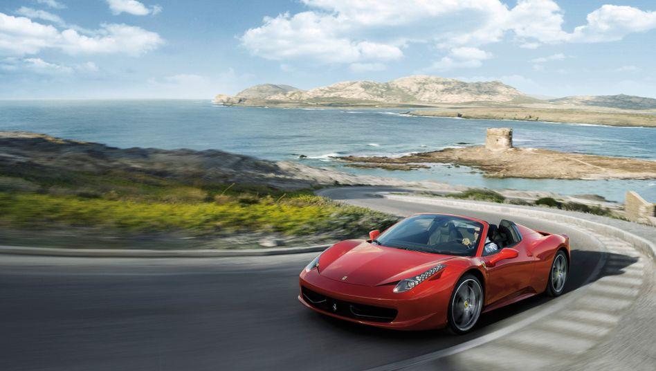 Ferrari 458 Spider: 200.000-Euro-Wagen mit Mangel