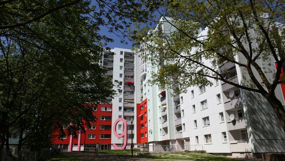 Wohnhäuser in Dortmund