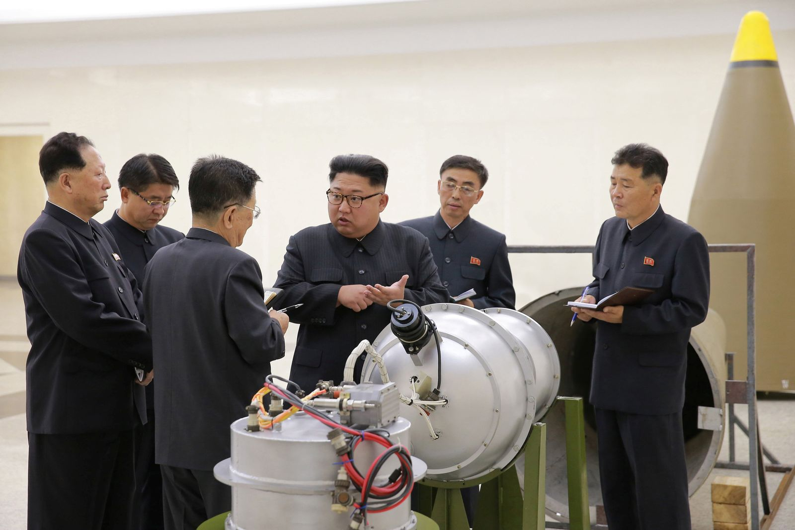 Nordkorea Wasserstoffbombe