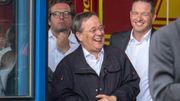 Steinmeier spricht Flutopfern Beileid aus – und Laschet lacht im Hintergrund