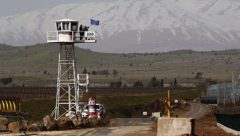 Golanhöhen: Kämpfe zwischen Regierungstruppen und Rebellen