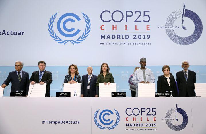 Delegierte bei der Uno-Klima-Konferenz in Madrid: Wie können Klimaschäden kompensiert werden?