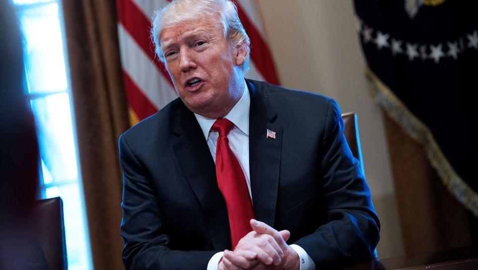 "US-Präsident Trump twittert: ""Wir beobachten eure Proteste genau"""