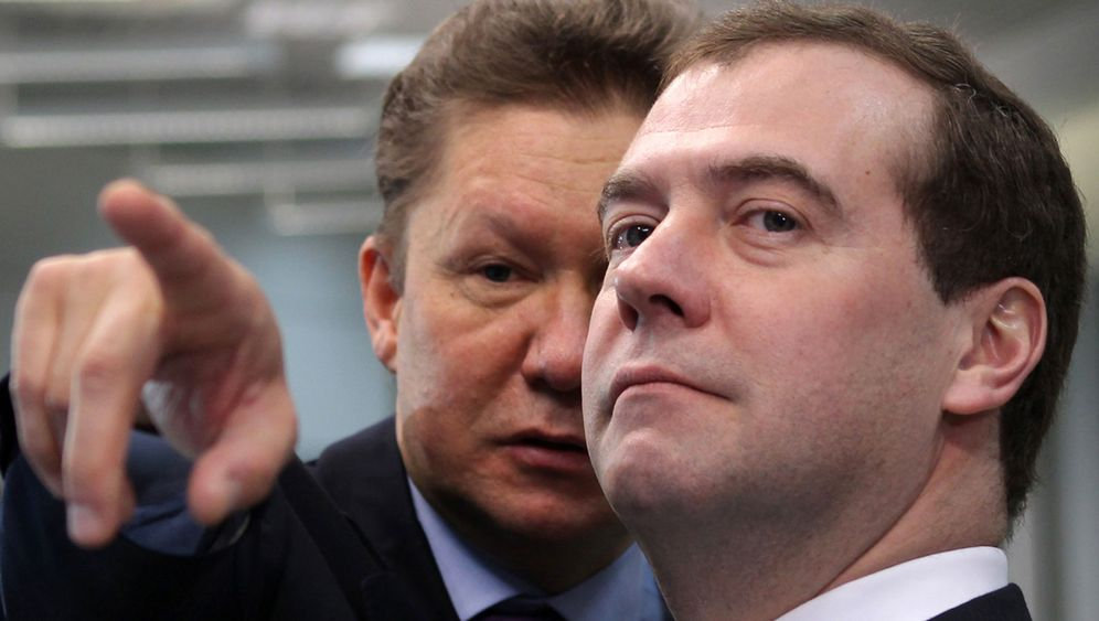 Photo Gallery: Gazprom in Crisis