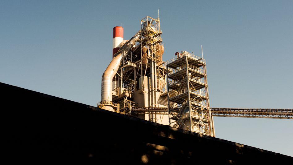 CO2-Abscheidungsanlage im belgischen Lixhe