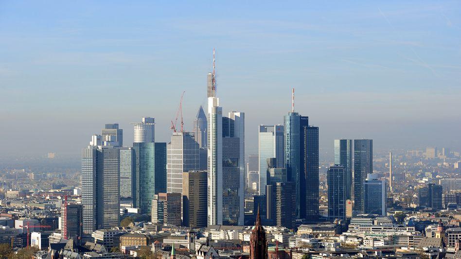 Bankenmetropole Frankfurt: Bearbeitung aus eigenem Interesse