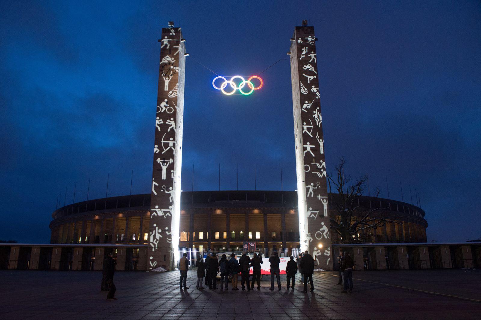 Olympische Ringe / Berlin