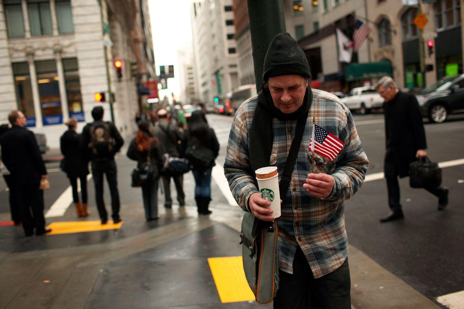 USA / Armut / Bettler
