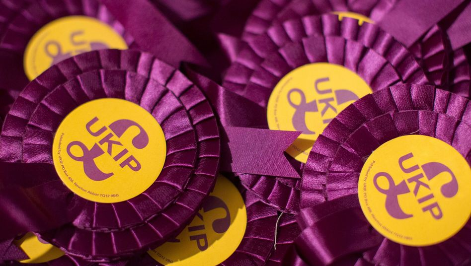 """Ukip-Wahlkampf: """"Großbritannien zuerst"""""""