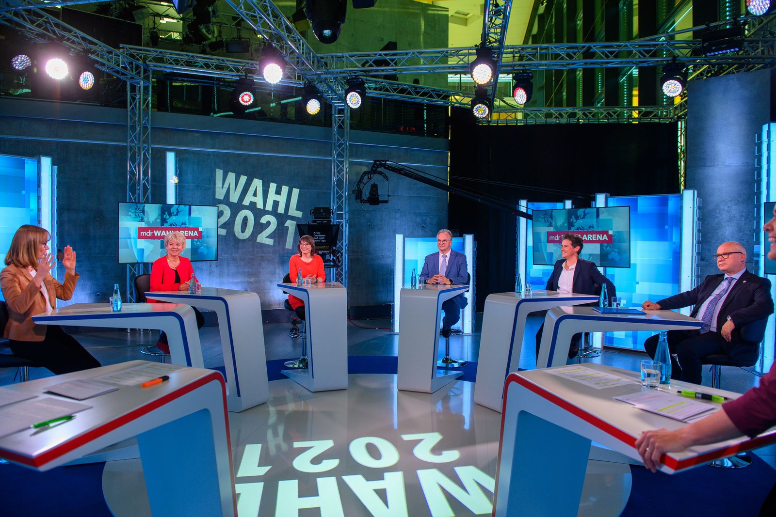MDR-Wahl-Arena zur Landtagswahl am 6. Juni 2021