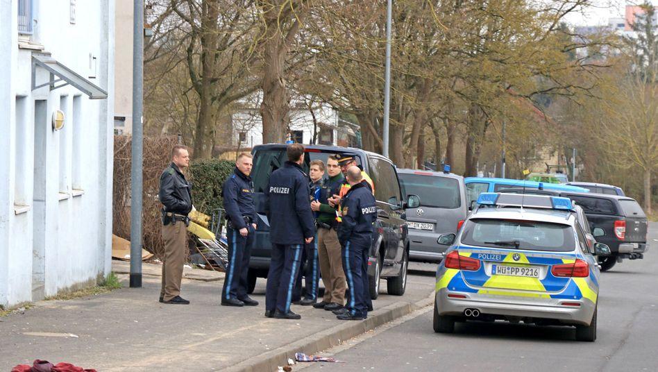 Polizeieinsatz in Schweinfurt