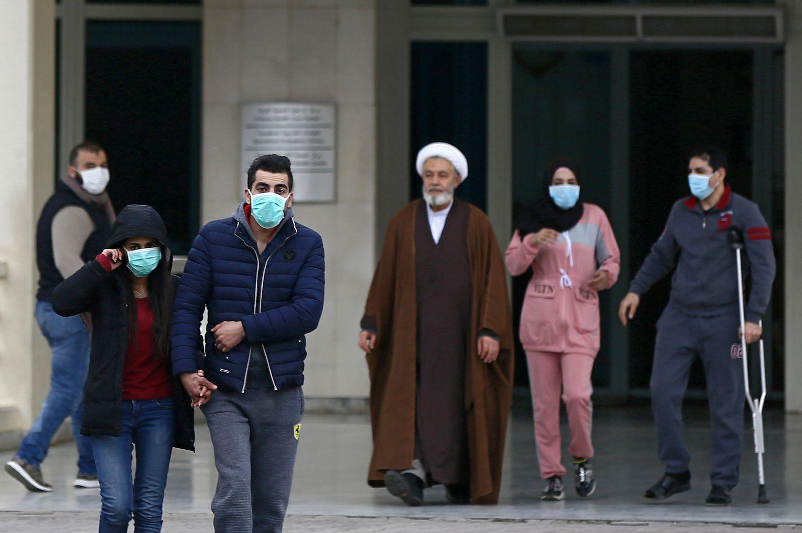 First case of coronavirus confirmed in Lebanon, Beirut - 21 Feb 2020