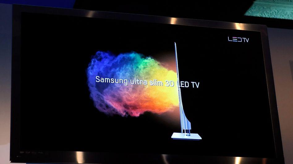 Samsung-Bildschirm: Guter Ausblick für 2010