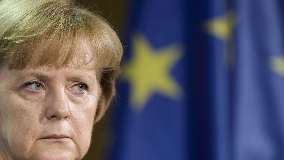 Bundekanzlerin Merkel (Archivbild vom Oktober 2011): Deutliche Absage an Euro-Bonds