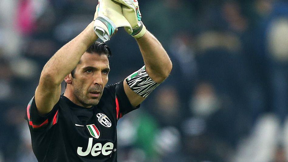 Juventus-Torhüter Buffon: Unbedingt die Champions League gewinnen