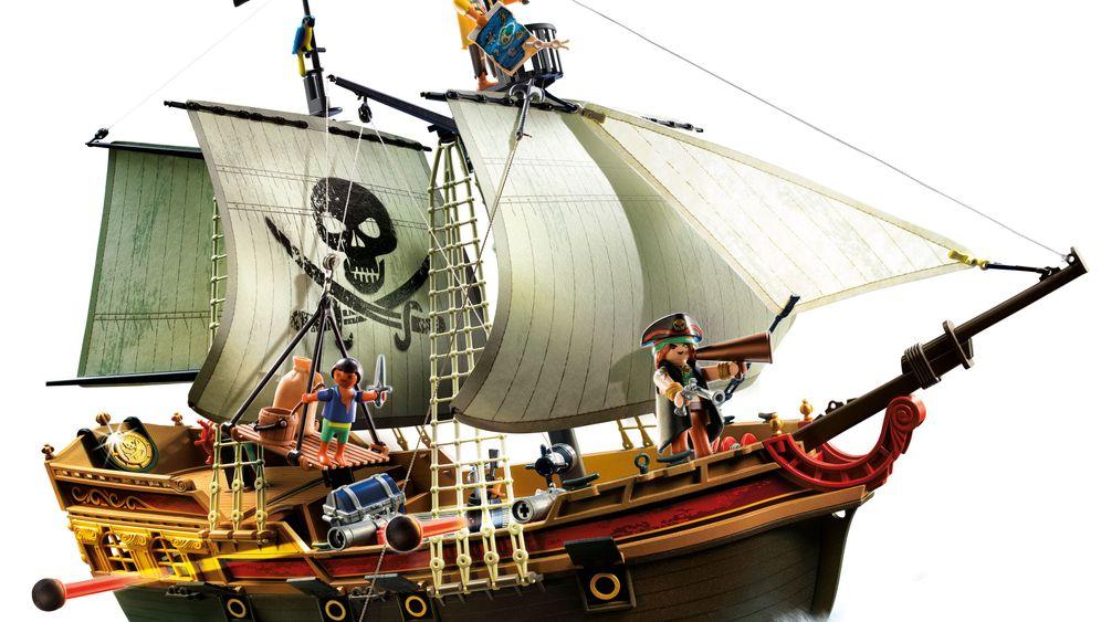 Playmobil: Lass mich dein Piratenschiff sein