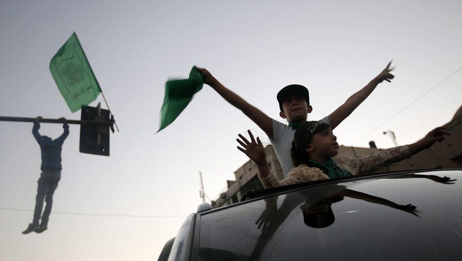 Gaza: Palästinenser jubeln über unbefristete Waffenruhe
