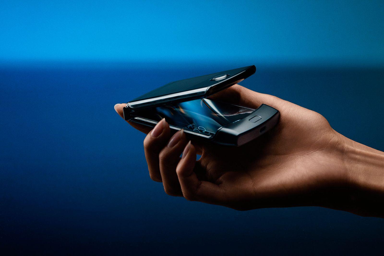 EINMALIGE VERWENDUNG Motorola Razr