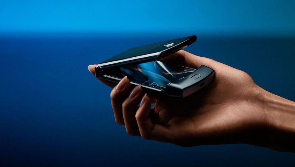 Das neue Motorola Razr: Sieht auf den ersten Blick fast aus wie das alte