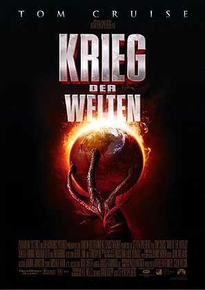 """""""Krieg der Welten""""-Plakat: Keine Zeile vor Start"""
