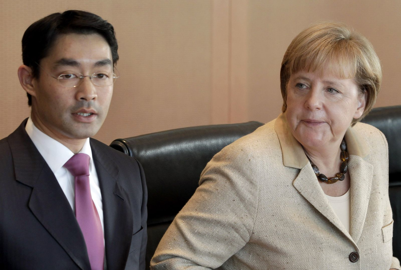 Merkel Rösler cabinet meeting