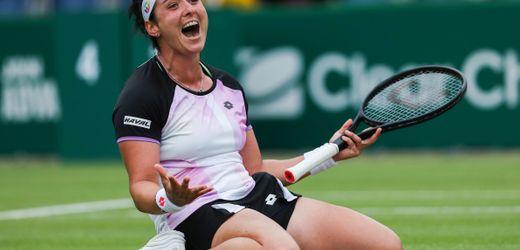 Tennis: Ons Jabeur erste arabische WTA-Tour-Siegerin: »Musste gewinnen, um Vorbild zu sein«