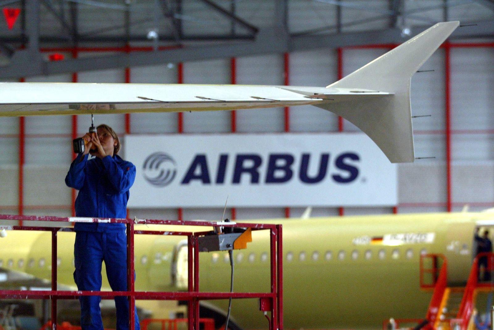NICHT VERWENDEN airbus arbeiter