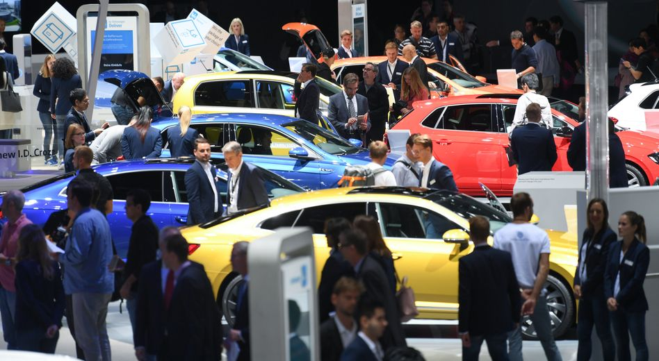 Auto-Messe in Frankfurt (Archivbild)
