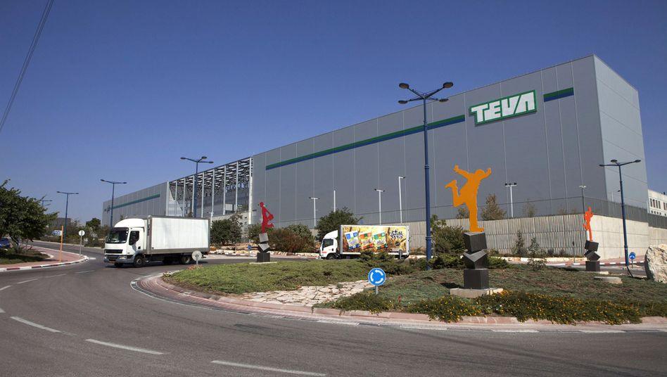 Teva-Logistikcenter in Shoam, Israel: Weltgrößter Generikahersteller
