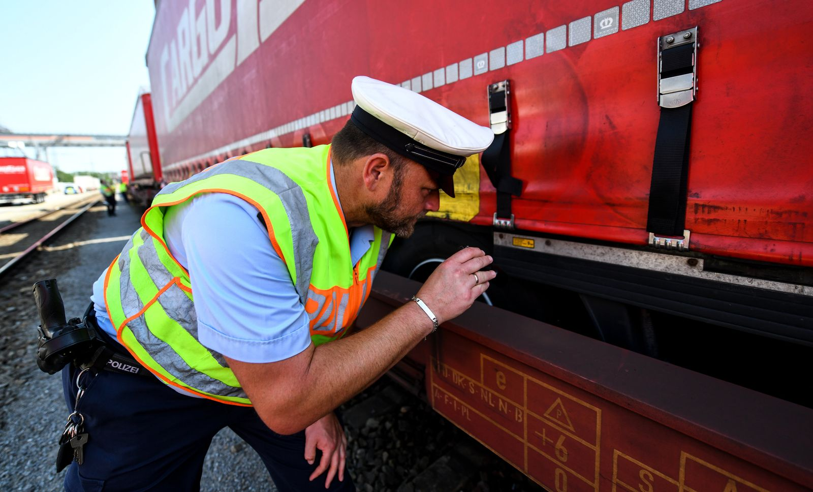 Bundespolizei kontrolliert Güterzüge wegen Flüchtlingen