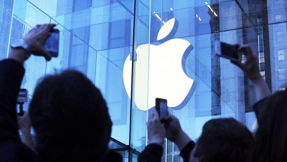 Apple-Store in New York: Kinderwunsch am Sankt-Nimmerleins-Tag