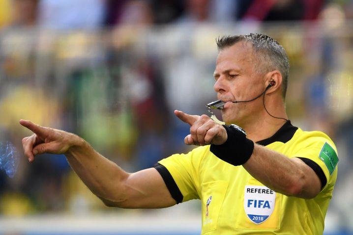 Schiedsrichter Björn Kuipers