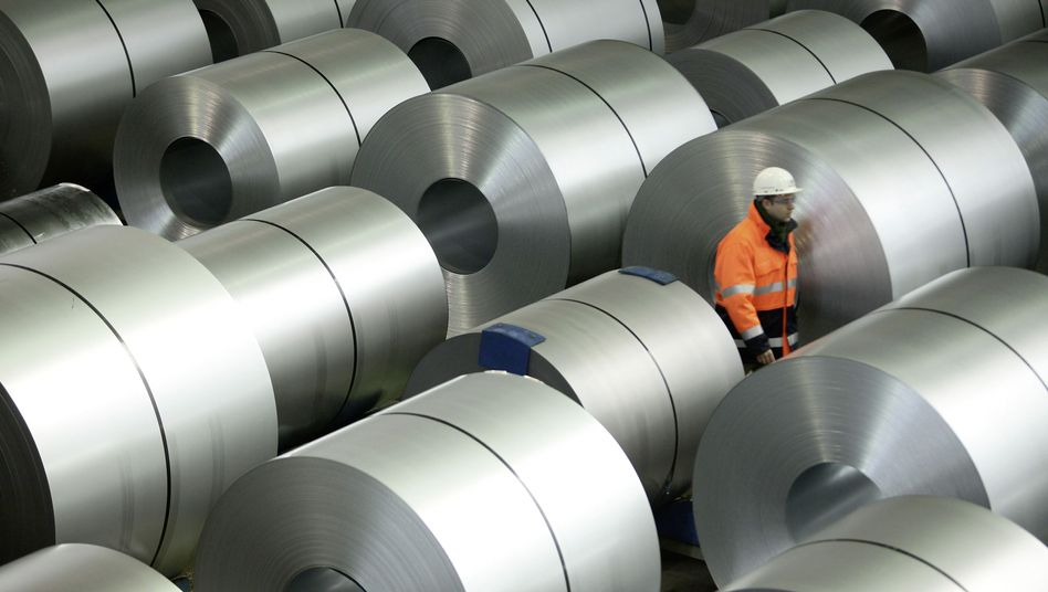 Stahlproduktion bei ThyssenKrupp: Widersprüchliche Indikatoren