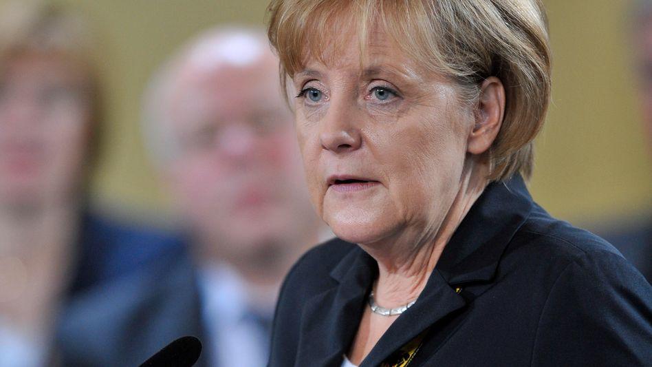"""Bundeskanzlerin Merkel: """"Größte Bewährungsprobe"""" seit dem Ende des Kommunismus"""