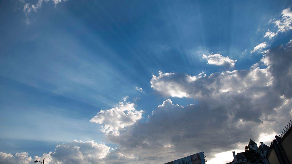 """Sonnenstrahlen: """"Fingerabdruck von CO2"""""""