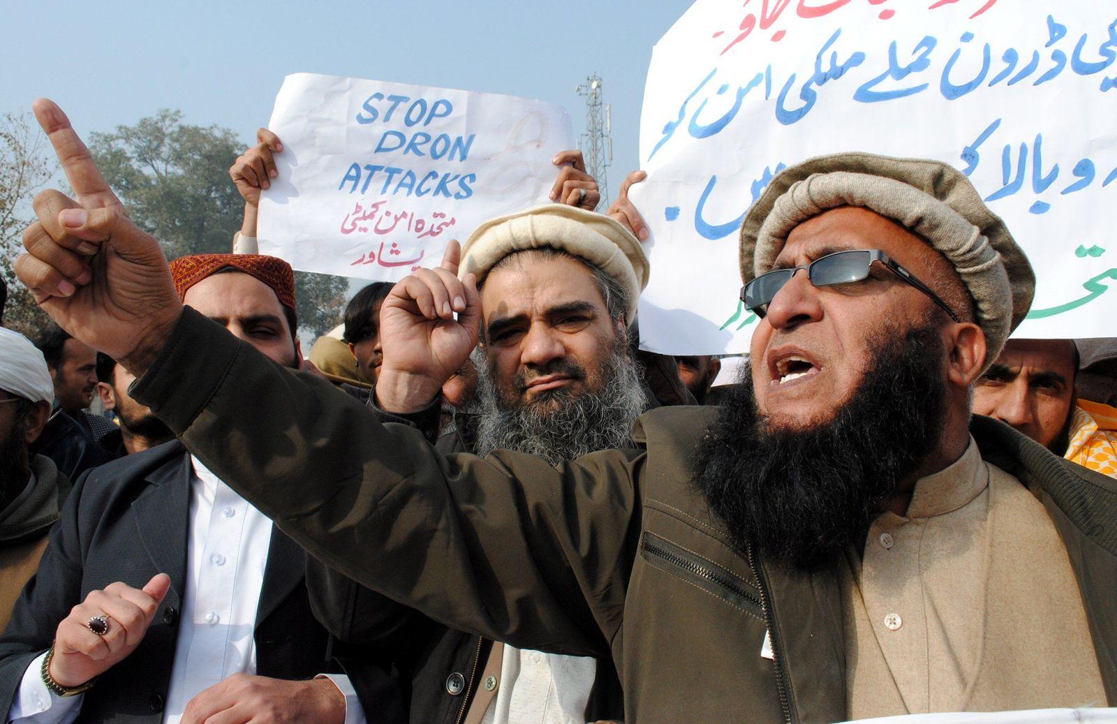 Pakistan/ Protest/ Drohnen