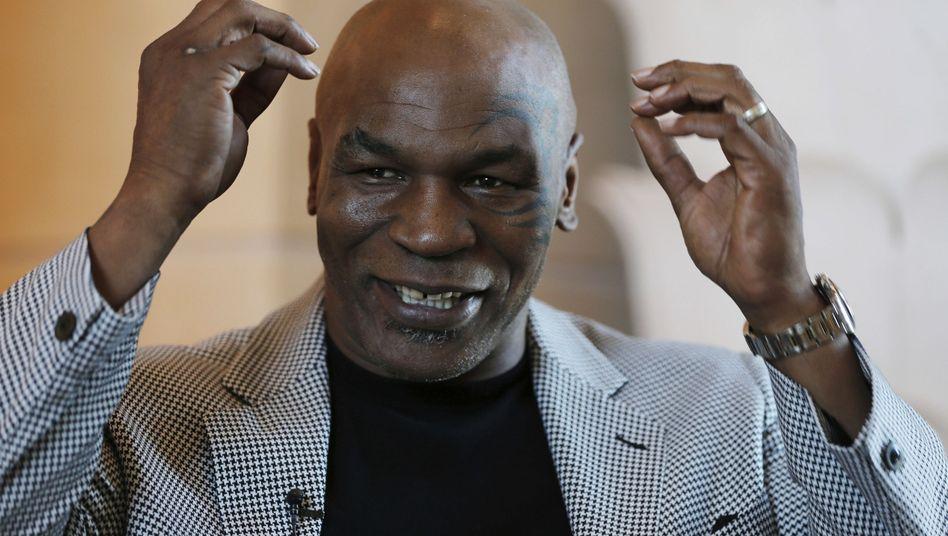 Ex-Weltmeister im Schwergewicht Mike Tyson