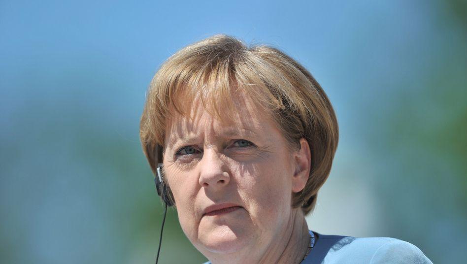 """Kanzlerin Merkel: """"Es geht um die Zukunftsfähigkeit Deutschlands"""""""