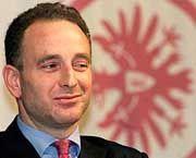 Eintracht Schatzmeister Rainer Leben musste am Freitag den Lizenzantrag der Eintracht vor dem DFB erläutern
