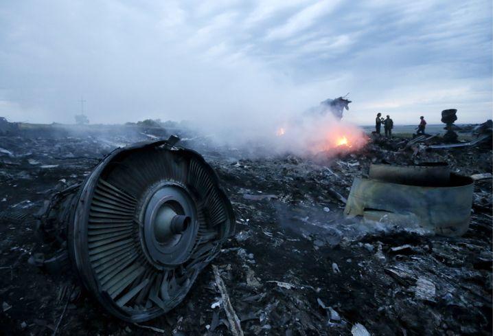 """Absturzstelle der Malaysia-Airlines-Maschine im Donbass: """"Überhaupt keine Beweise"""""""